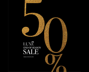 CMG LUXE END OF SEASON SALE