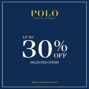Polo Ralph Lauren sale up to 30% off